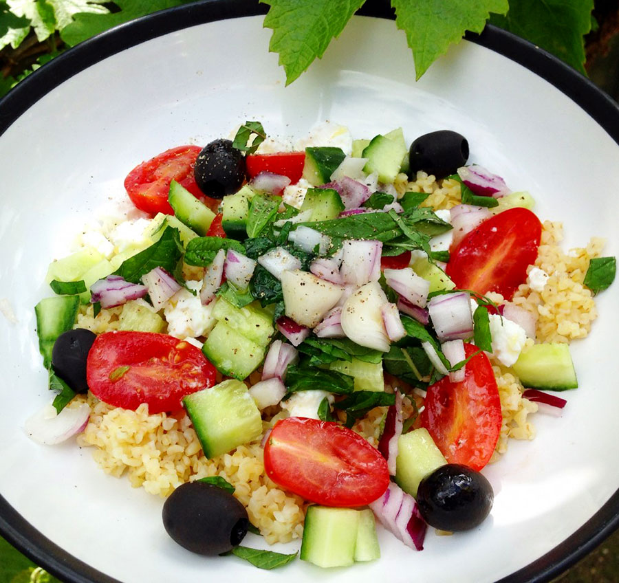 Greek sunshine salad