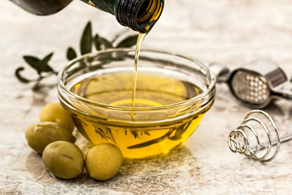 Olive oil is key to a Mediterranean-style diet.