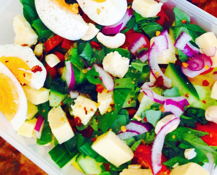 Power packed salad