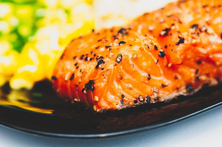 Chilli lime salmon