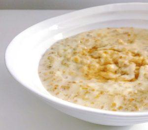 Athlete's porridge