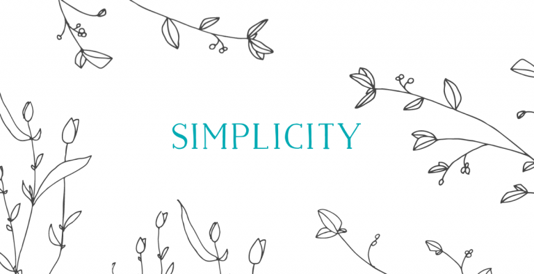 A manifesto for a simpler life