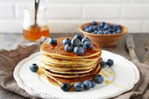 Teacup pancakes