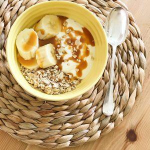 Banoffee pie recipe oats