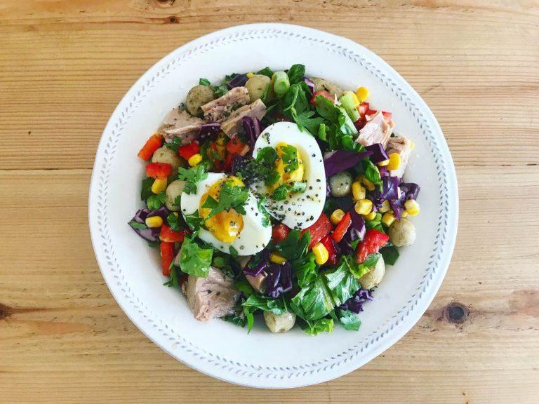 Healthy tuna nicoise recipe