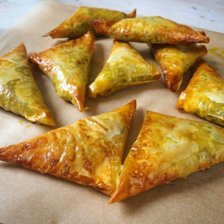 Baked vegetable samosa recipe