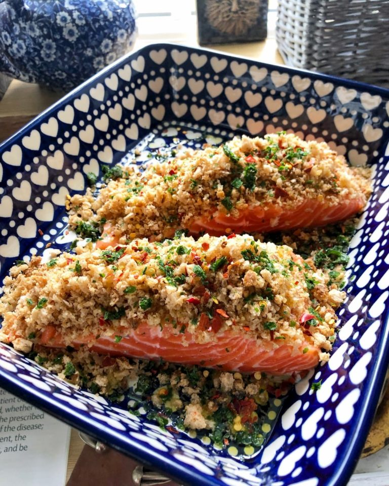 Sea trout recipe