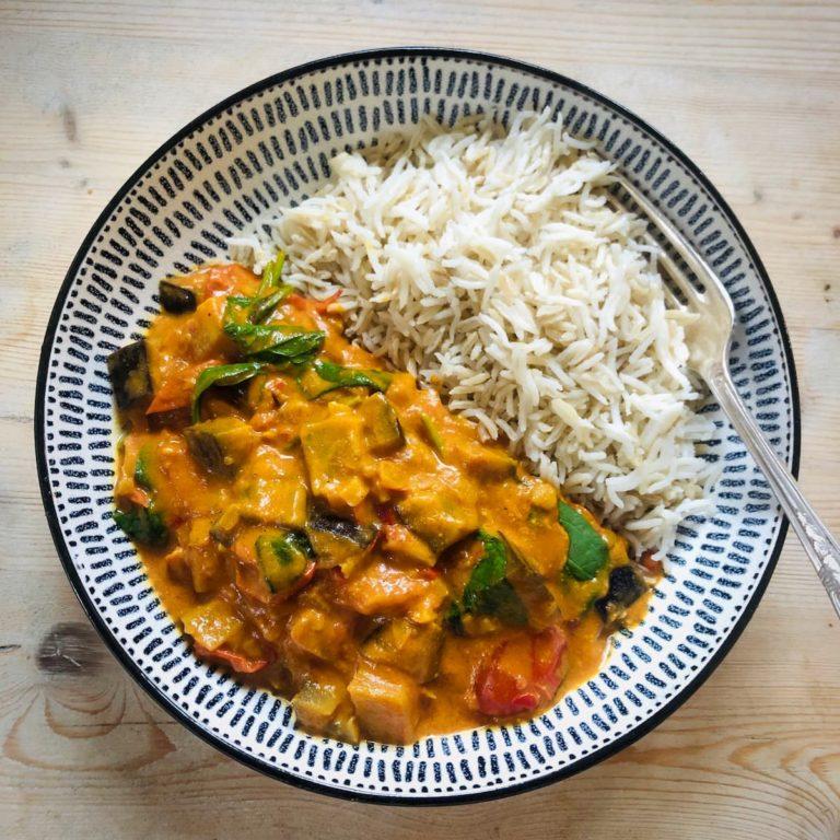 Vegan curry recipe UK