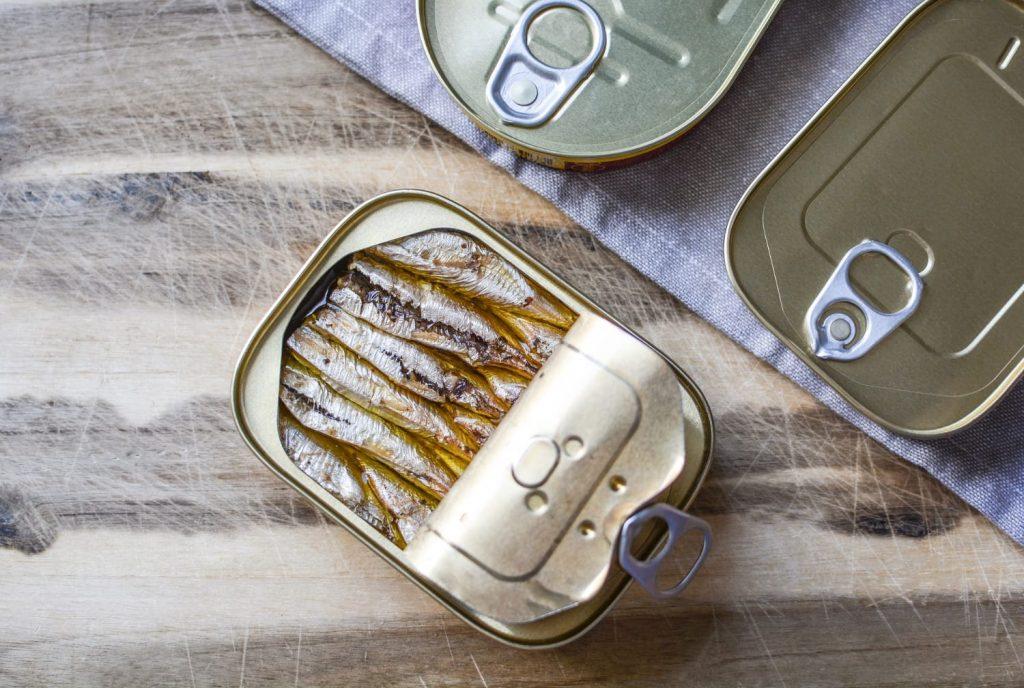 Vitamin E – Sardines
