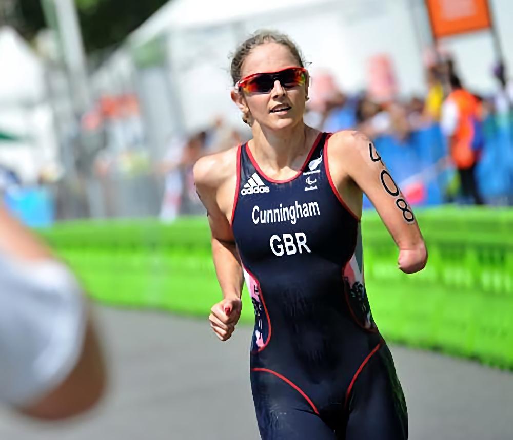 Clare Cunningham in Rio 2016