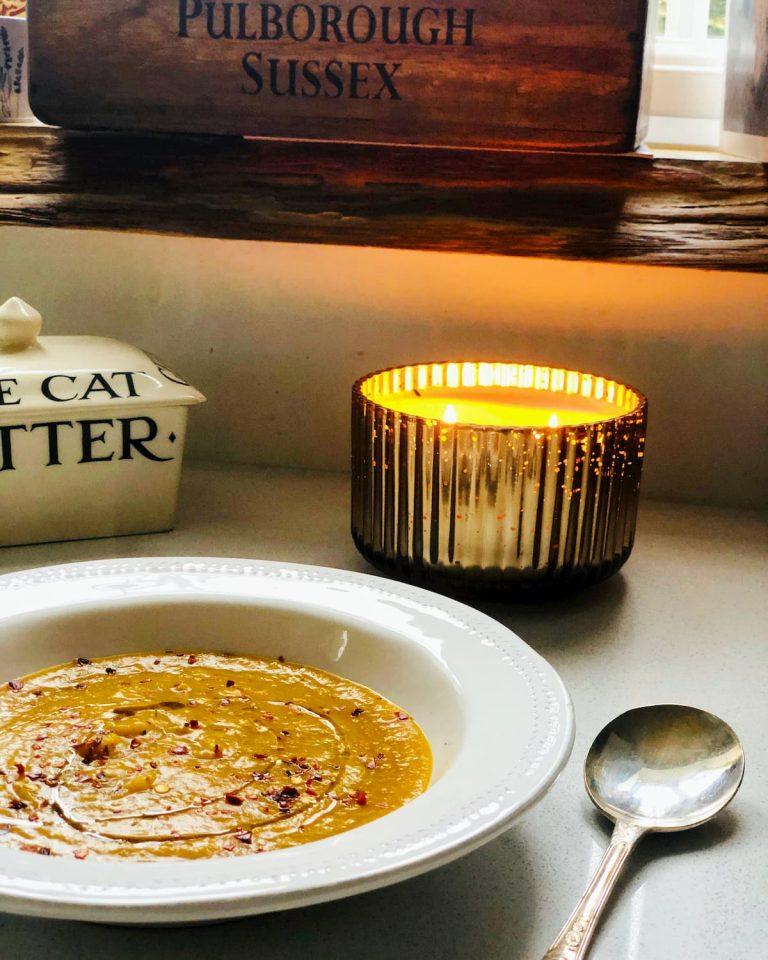 Squash chilli soup recipe UK