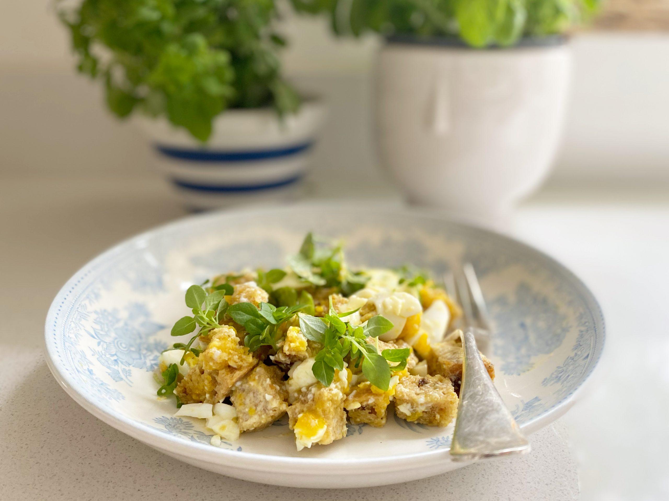 Egg breakfast recipe UK