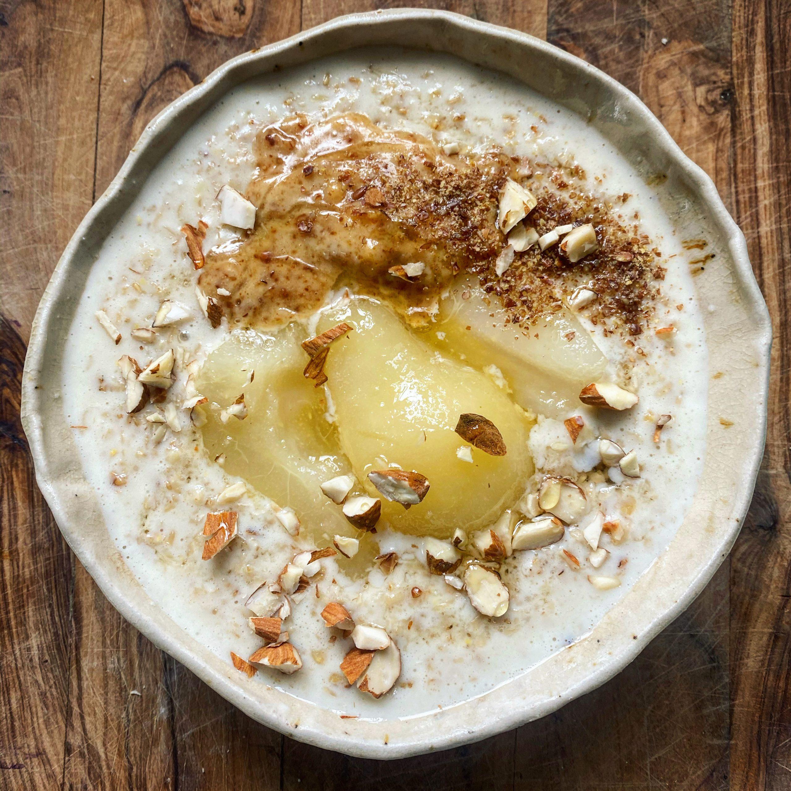 Peanut butter porridge recipe